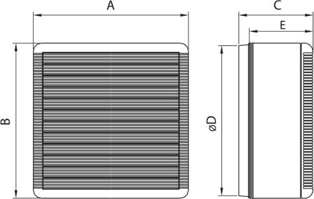 elicent fan vitro boyut